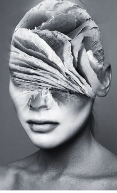 collages, collage art, spanish artists, surreal art, s Artistic Photography, White Photography, Portrait Photography, Texture Photography, Photography Women, Surreal Photos, Surreal Art, Surreal Portraits, Double Exposure Photography
