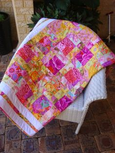 Tied with a Ribbon: Handmade Custom Quilts