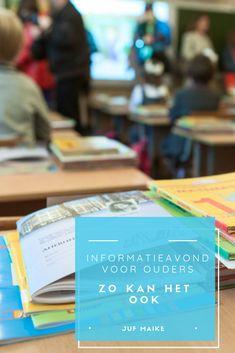 Informatieavond voor ouders, zo kan het ook School Info, Education, Kids, Children, Boys, Educational Illustrations, Learning, Babies, Kids Part