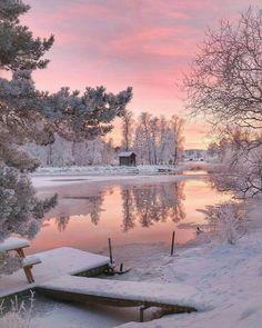 Pristine Winter Scence❤️