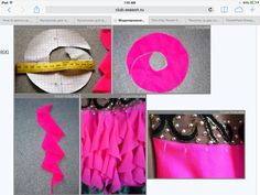600 x 450 пикс Sewing Hacks, Sewing Tutorials, Sewing Crafts, Sewing Patterns, Dance Outfits, Dance Dresses, Rhythmic Gymnastics Leotards, Figure Skating Dresses, Creation Couture