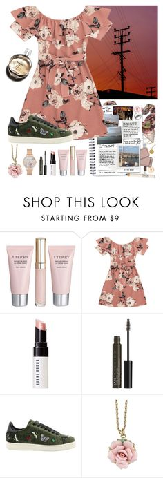 """#happymemories"" by yuna18 ❤ liked on Polyvore featuring Della, By Terry, Bobbi Brown Cosmetics, NYX, Chanel, MOA Master of Arts, 1928, Olivia Burton, flowerstyle and happymemories"