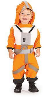 Never too early for the Padawan training...Star Wars X-Wing Fighter Pilot Costume