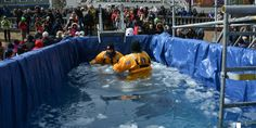 | News | In photos – Polar Plunge 2017 for Special Olympics: With about 70 participants braving a cold day with a painful… #News_