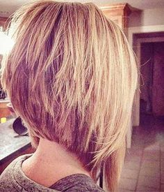 Unbelievable The whole hairstyle industry is changing yearly. Modern hairstyles are having more flexible variations, mixing old with new. Some of these modern variations are inverted bob hairstyles. Inverted Bob Hairstyles, Short Bob Haircuts, 2015 Hairstyles, Modern Hairstyles, Layered Haircuts, Medium Hairstyles, Haircut Short, Hairstyle Short, Graduated Bob Haircuts