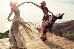two for the show: karlie kloss and taylor swift by mikael jansson for us vogue march 2015