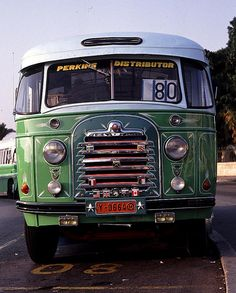 lovingly painted bus. Malta
