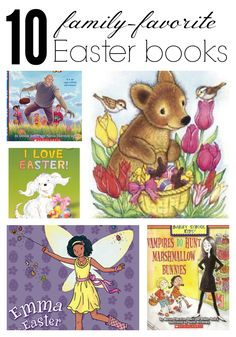 10 Family Favorite #Easter Books Easter books are a perfect addition to baskets this year! | for @Scholastic