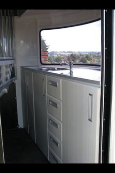 Horse float storage