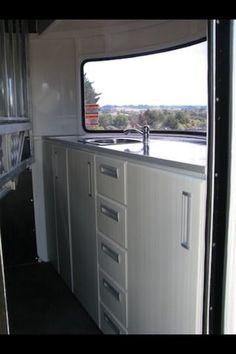 Horse float storage