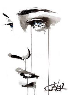 """Saatchi Art Artist LOUI JOVER; Drawing, """"still"""" #art"""