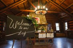 Rutgers Log Cabin Wedding Inspiration