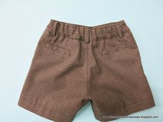 pantalón-niño-cintura-elástica Boys Summer Outfits, Summer Boy, Short Niña, Patterned Shorts, Little Boys, Denim Jeans, Milan, Casual Shorts, Sewing