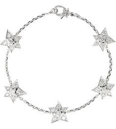 CHANEL - Comète 18K white gold and diamond bracelet | Selfridges.com