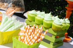 citrus themed baby shower | photos: citrus themed baby shower