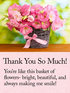 Send Free Thank You Cards to Loved Ones on Birthday & Greeting Cards by Davia. It's free, and you also can use your own customized birthday calendar and birthday reminders. Thank You Messages Gratitude, Thank You Wishes, Messages For Friends, Thank You Greetings, Thank You Quotes, Thank You Cards, Gratitude Quotes, Birthday Greetings Quotes, Birthday Messages