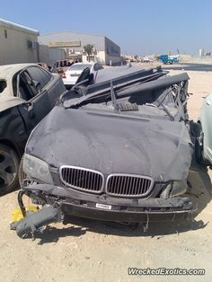 BMW 3-8 Series 7-Series crashed in Abu Dhabi, United Arab Emirates