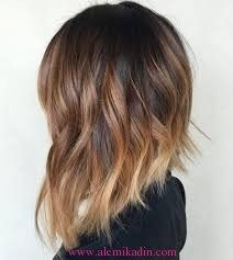 Brown ombre hair color looks super feminine and sexy. Check out trendy color ideas. - Brown ombre hair color looks super feminine and sexy. Check out trendy color ideas. Brown ombre hair color looks super feminine and sexy. Check out trendy color ideas. Brown Ombre Hair, Ombre Hair Color, Hair Color Balayage, Hair Colour, Short Balayage, Ombre Hair Bob, Balayage Lob, Ombre Hair Style, Lob Ombre