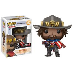 Oooh baby! Now available at Collekt; Overwatch - McCre...  come and get it http://www.collekt.co.uk/products/overwatch-mccree-usa-182-preorder?utm_campaign=social_autopilot&utm_source=pin&utm_medium=pin #Funko #funkopop #Funkouk