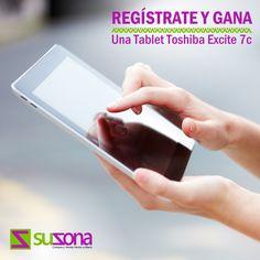¡Suzona Te Premia! Crea tu tienda virtual, promociona tus productos y podrás ganarte una Tablet Toshiba Excite 7c. Regístrate en SUZONA.com