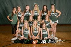 Ccs varsity cheerleading team