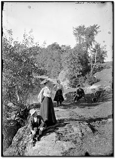 Photo: Two men and two women on rocky outcrop at Charleston Lake, [ca. Two Men, Charleston, Tourism, Explore, Photography, Painting, Turismo, Photograph, Fotografie