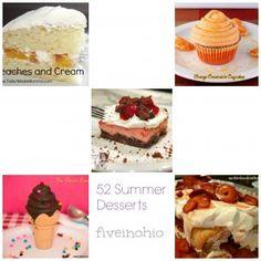 52 Summer Desserts