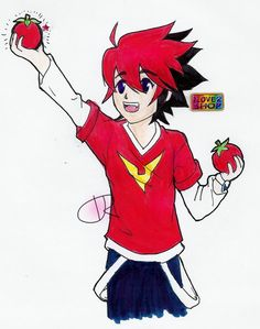 The Joy of a Tomato by Ask-Guren-Nash.deviantart.com on @DeviantArt