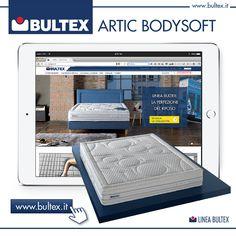 Vuoi saperne di più sul nuovo #Artic #BodySoft in #BultexCore? Ti aspettiamo sul nostro sito web, oppure vieni a provarlo senza impegno presso uno dei nostri Rivenditori Autorizzati!  #Bultex #sonno #dormire #materasso #materassi #benessere #ergonomia #comfort