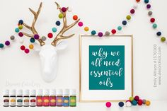 Why We ALL need Essential Oils | Decorchick!