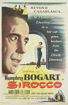 Sirocco Original Movie Poster - 1951
