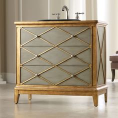"Cole + Company Designer Series 42"" Lauren Hall Bathroom Vanity ..."