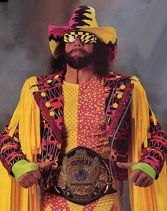 The Macho Man Randy Savage. Was a trendsetter for the buisness. Got over shadowed by Hogan way to much.