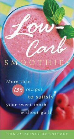 Watching your carbs? Look inside for more than 135 fabulous recipes for frosty drinks so delicious its hard to believe theyre legal. If youre a committed carbohydrate counter or a calorie-conscious ea
