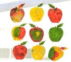 fizzing apple art