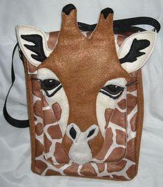 giraffe bag... Too much?