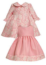 Bonnie Jean® Pink Jacquard Dress Set. I had a set like this for Ella, just need to find another one!