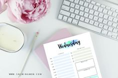 FREE Daily Planner Printable: 7 Pretty and Basic Planning Sheets!
