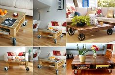 Craft idea with wood pallets is now very popular. Those who want to try the pallets idea can get the pallets easily from big box stores and the major businesses where they dispose the pallets as trash. There is a lot of DIY pallet furniture. With pallets you can create so many pieces of furniture …