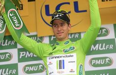Peter Sagan (Cannondale) had a scare in the last 20km but rebounded to 4th on the stage. #tdf2014 #tdf #socialpeloton