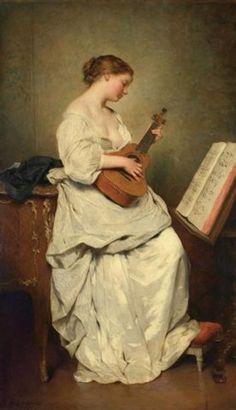 Charles Joshua Chaplin (1825–1891) - Music Girl - Pictify - your social art network pictify.com600 × 1043Buscar por imagen The Spinshots play Rhythm & Tunes Chen Yifei - Buscar con Google