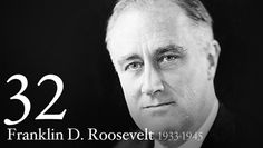 "Franklin D. Roosevelt - Assuming the Presidency at the depth of the Great Depression, Franklin D. Roosevelt helped the American people regain faith in themselves. He brought hope as he promised prompt, vigorous action, and asserted in his Inaugural Address, ""the only thing we have to fear is fear itself."""
