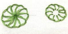 Buttonhole wheel - hand embroidery tutorials (1)