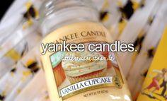 yankee candles.
