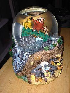 Lion king Disney snow globe