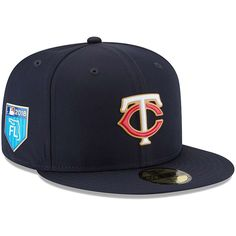 Minnesota Twins New Era 2018 Spring Training Collection Prolight 59FIFTY  Fitted Hat – Navy 274502da1e8