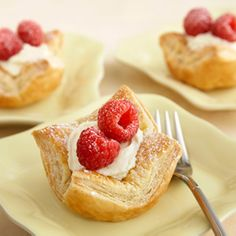 mini puff cheesecakes-this sounds yummylicious and easy to try