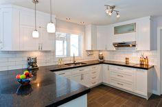 Start Reading This On House Interior Planning Kitchen On A Budget, Kitchen Redo, Kitchen Remodel, Kitchen Cabinets, White Kitchen Caninets, Interior Design Kitchen, Interior Design Living Room, Tan Walls, Fixer Upper Kitchen
