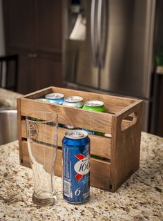Beers for Your Buddy | Because just handing someone a six-pack of Natty Light just isn't as classy. | DIY Beer Case