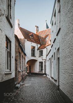 Bruges in the morning by hrrbhn #ErnstStrasser #Belgien #Belgium Bruges, Belgium